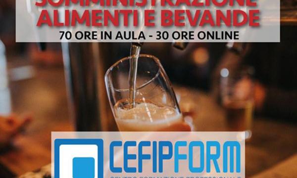 CORSO SAB REC di Somministrazione Alimenti Bevande Valido in Tutta Italia